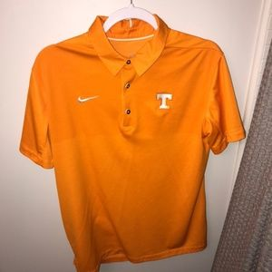Tennessee Themed Gameday Polo Nike Dri Fit